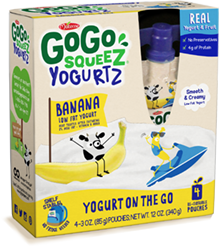 Click here to purchase YogurtZ Banana