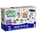 10-Pouch Variety: 5 Blueberry YogurtZ, 5 Berry YogurtZ [ggs-041265.jpg] - Click for More Information